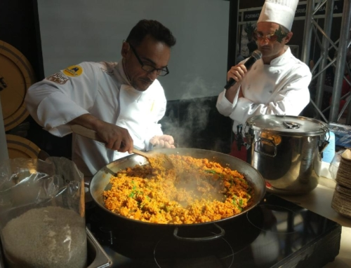 Showcooking de arroces en Fira Apat